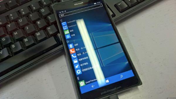Prototipo Lumia 950 XL