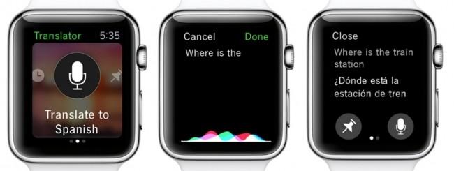 Microsoft Translator - Apple Watch