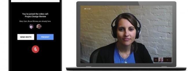 Presentazioni Google - Hangouts