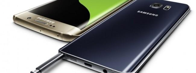 Samsung Galaxy S6 edge+ e Galaxy Note 5