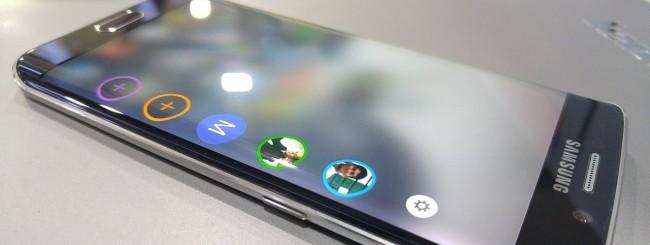 Samsung Galaxy S6 edge - People edge