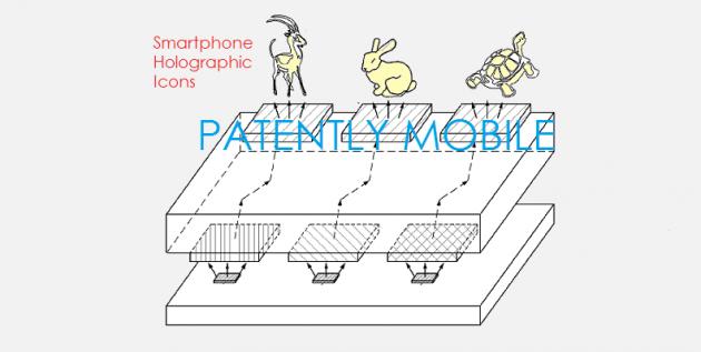 Smartphone olografico
