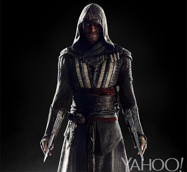 Michael Fassbender nei panni del protagonista nel film di Assassin's Creed