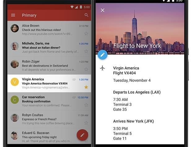 Gli eventi ricevuti via posta elettronica in Gmail vengono importati automaticamente all'interno di Google Calendar