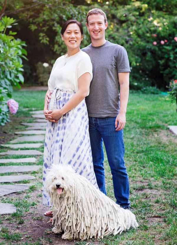 Priscilla e Mark Zuckerberg si sono conosciuti ai tempi di Harvard. Lei è medico, lui ha abbandonato l'università e ha fondato Facebook. Si sono sposati il 20 maggio del 2012, all'indomani della quotazione in Borsa al Nasdaq.
