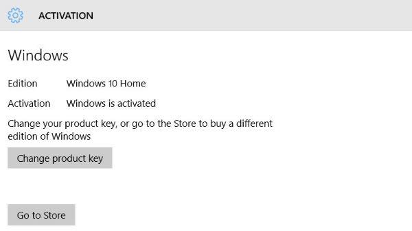 Windows 10, upgrade da Home a Pro