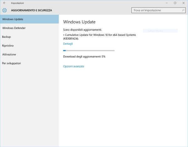 Windows 10 Service Release 1