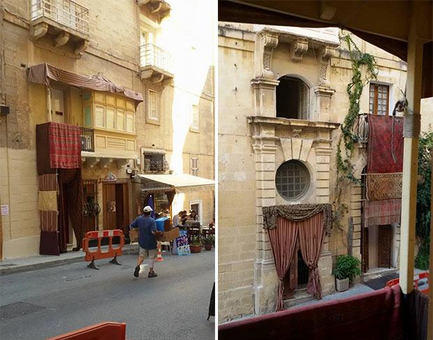 Il set a Malta per le riprese del film su Assassin's Creed