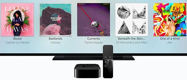 Apple TV e Apple Music