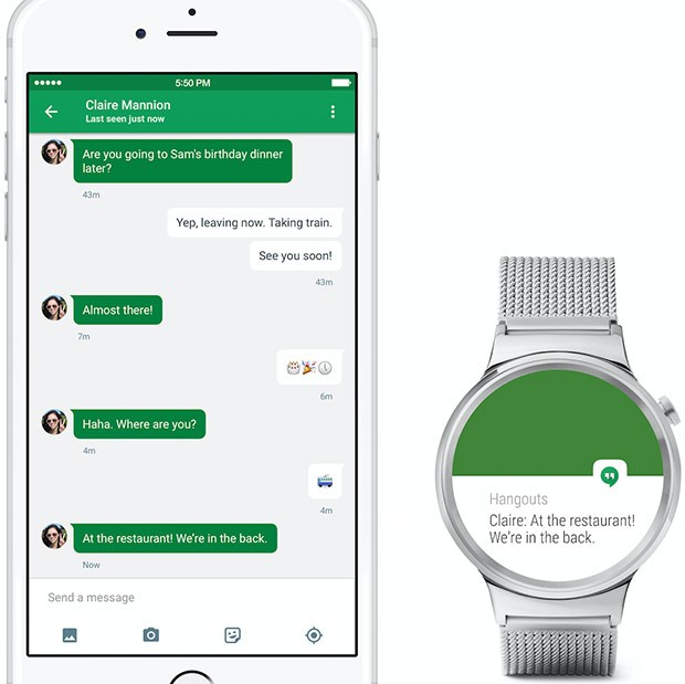 Gli smartwatch Android Wear sono compatibili con i dispositivi iOS