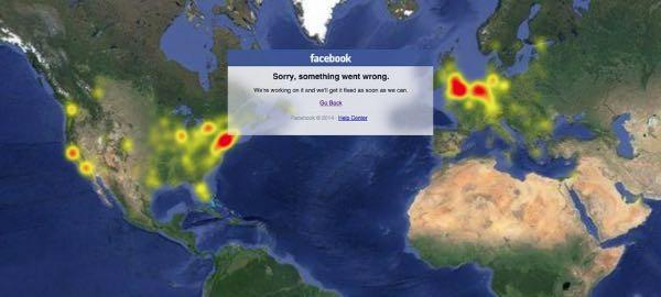 Facebook down per pochi minuti, panico in rete