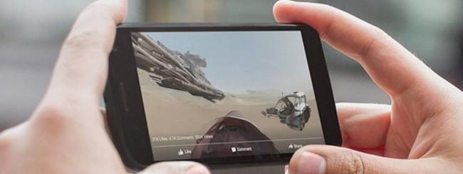 Facebook presenta i video a 360 gradi