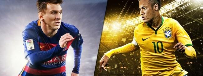 FIFA 16 vs. PES 2016