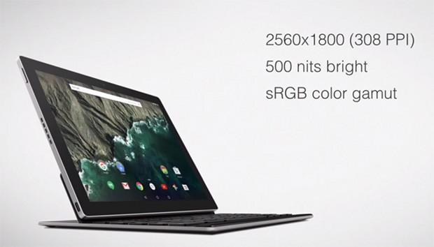 Pixel C: il tablet Android con tastiera presentato da Google