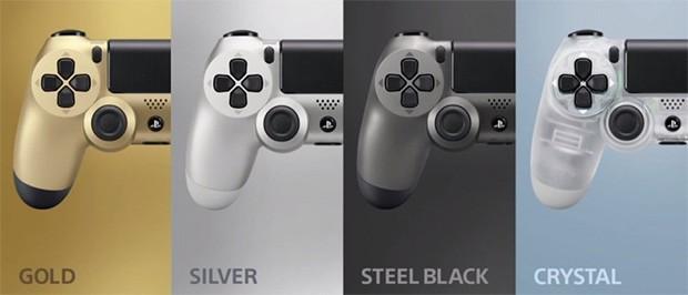 Le nuove colorazione del controller PS4