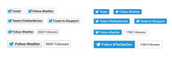 Twitter, nuovi pulsanti