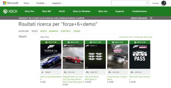 Sito Xbox