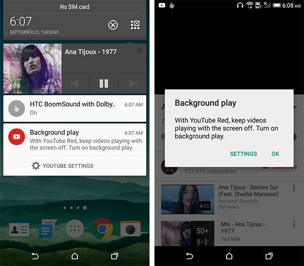 I primi screenshot che mostrano riferimenti al nuovo servizio YouTube Red di Google