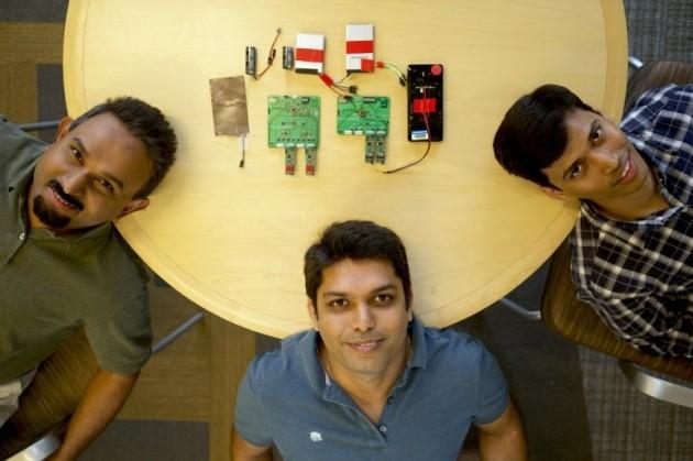 Il prototipo del sistema sviluppato da Microsoft Research.