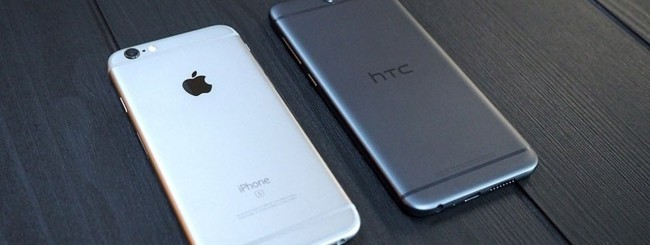HTC One A9 - Apple iPhone 6s