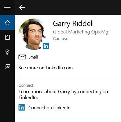 Windows 10, Cortana adesso supporta LinkedIn