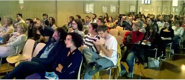 C'è sempre stato parecchio pubblico all'IF2015 alla stazione Leopolda. Il pomeriggio di venerdì ha ospitato un vero e proprio show sul tema dei Big Data.