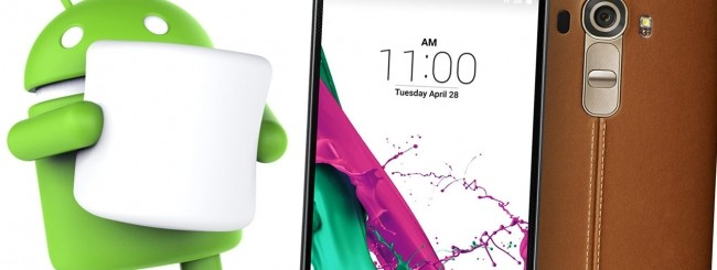 LG G4, Android 6.0 Marshmallow