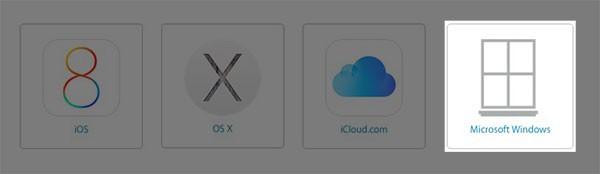 Logo Windows secondo Apple