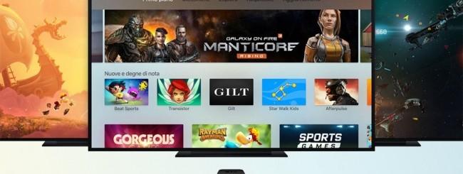Apple TV, schermi