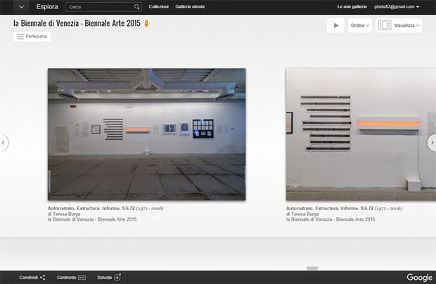 La Biennale di Venezia nell'archivio del Google Cultural Institute