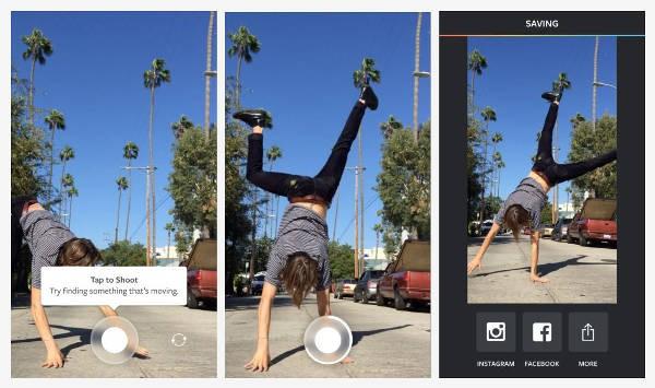 App Boomerang di Instagram