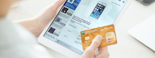 iPad e carta di credito
