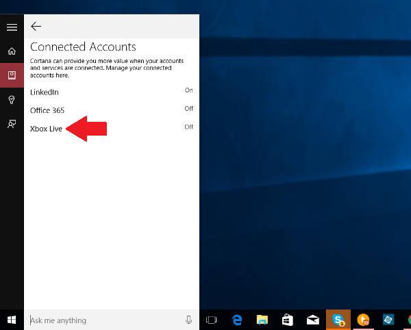 Windows 10, Cortana supporterà Xbox Live