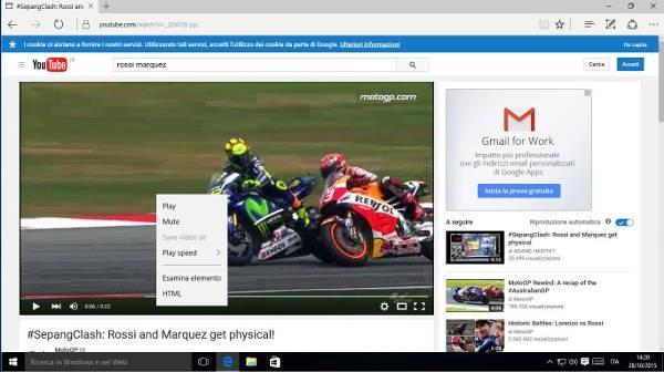 Edge permetterà di scaricare i video dalla rete
