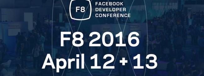 Facebook annuncia la F8 Conference 2016