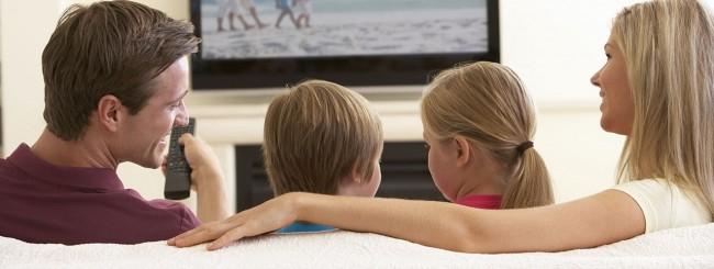 Famiglia e TV