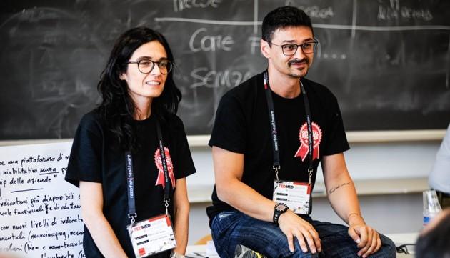 Francesca Fedeli e Roberto D'Angelo, fondatori di Fightthestroke.org