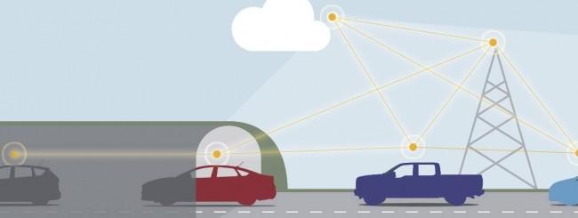 Tecnologia spaziale per le auto connesse di domani
