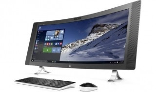 HP Envy Curved All-in-One