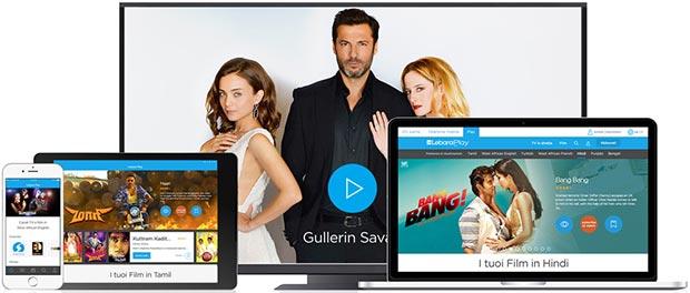 Lo streaming di Lebara Play è accessibile da computer, smartphone, tablet e set-top box