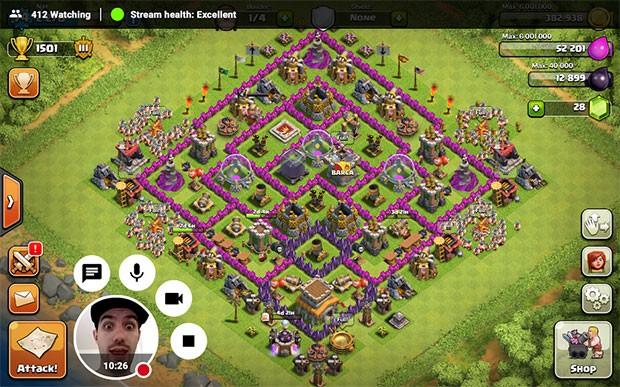Lo streaming live dei giochi da smartphone e tablet su YouTube Gaming