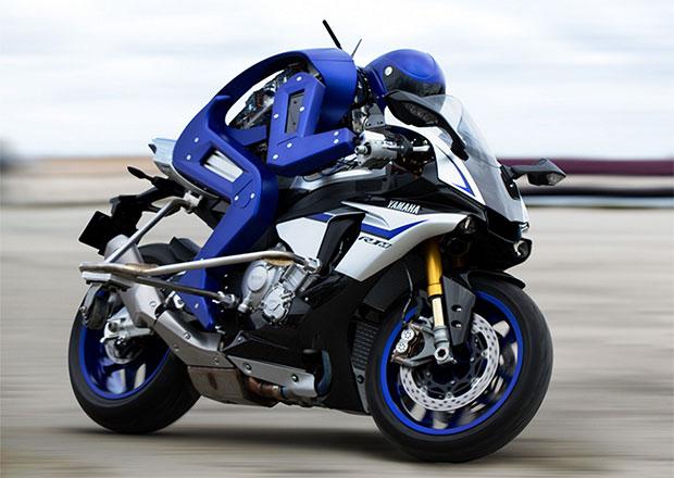 Yamaha Motobot, il robot motociclista