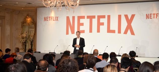 Conferenza stampa per la presentazione di Netflix