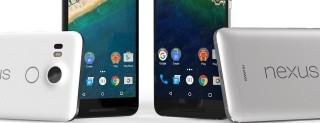 Nexus 6P e Nexus 5X