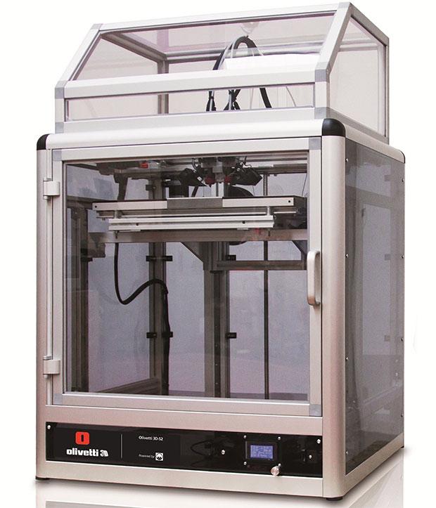 Olivetti 3D-S2, la prima stampante 3D del gruppo