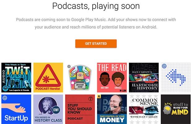 Google annuncia l'arrivo dei podcast sulla piattaforma di streaming Play Musica