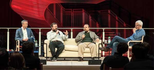 L'ultimo panel al SOTN15 ha visto protagonisti Lee Bryant  Vinay Gupta  David Orban  Euan Semple.