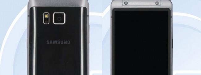 Samsung Galaxy S6 flip phone