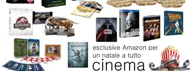 Natale, le esclusive Amazon per il cinema