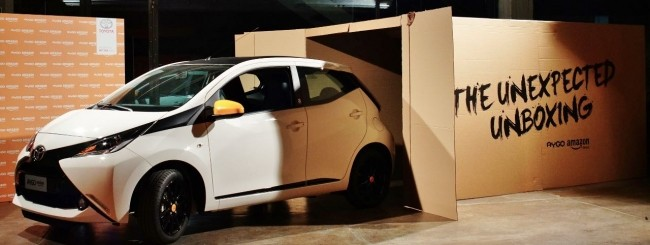 Toyota Ayago Amazon Edition